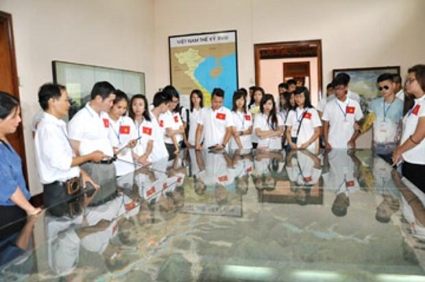 Camp d'ete 2016: les jeunes Viet Kieu avec le patrimoine culturel national hinh anh 1