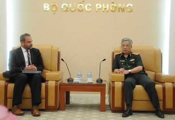 Vietnam-Etats-Unis discutent de la promotion de la cooperation de defense hinh anh 1