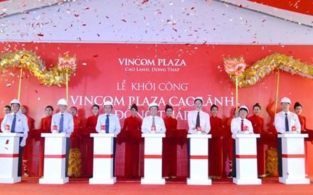 Mise en chantier d'un centre commercial Vincom a Dong Thap hinh anh 1