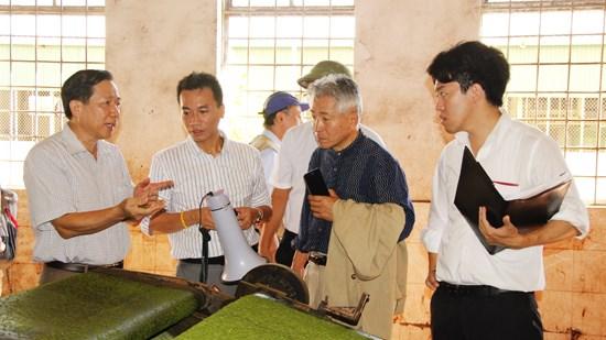 Les entreprises japonaises rencontrent les grands producteurs a Nghe An hinh anh 2