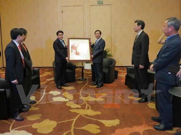 Hanoi et Seoul intensifient leur cooperation dans divers domaines hinh anh 1