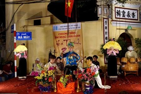 Des concerts vesperaux de musique traditionnelle dans le vieux Hanoi hinh anh 1