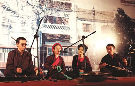 Des concerts vesperaux de musique traditionnelle dans le vieux Hanoi hinh anh 2