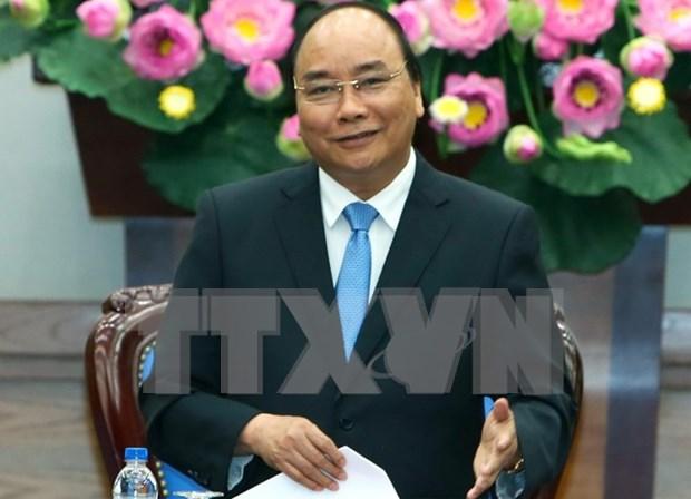 Le Premier ministre engage le secteur industriel a atteindre une croissance de 10 % hinh anh 1