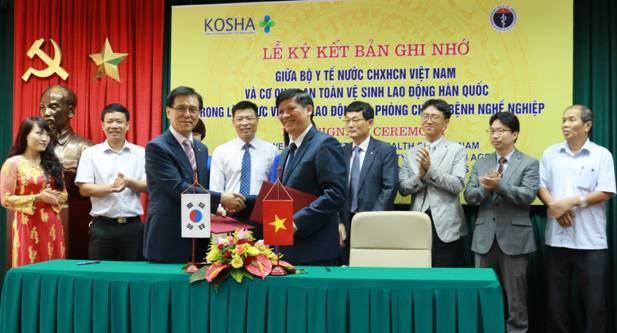 La R. de Coree soutient l'amelioration de l'hygiene et de sante au travail hinh anh 1
