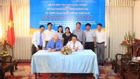 Quang Tri: Plan International Vietnam œuvre pour les enfants pauvres hinh anh 1