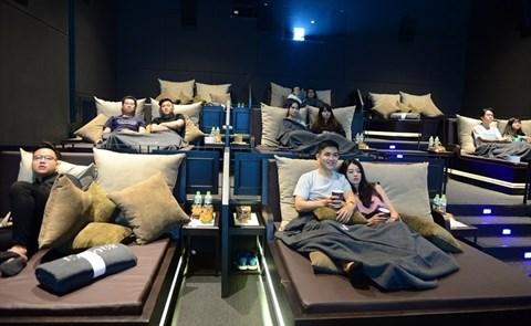 Cinema au lit : un nouveau loisir au Vietnam hinh anh 1