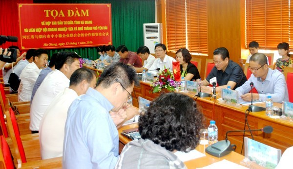 Des entreprises chinoises sondent les opportunites d'investissement a Ha Giang hinh anh 1