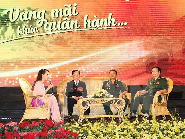 Le president Tran Dai Quang met a l'honneur des hommes d'affaires-veterans de guerre hinh anh 2