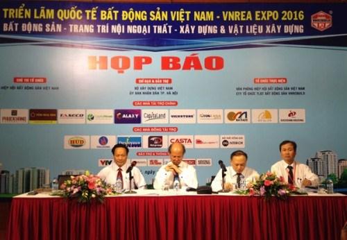 Le salon international de l'immobilier VNREA Expo 2016 attendu a Hanoi hinh anh 1