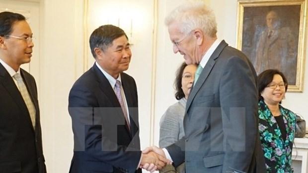 Bonnes perspectives pour la cooperation economique Vietnam-Allemagne hinh anh 1