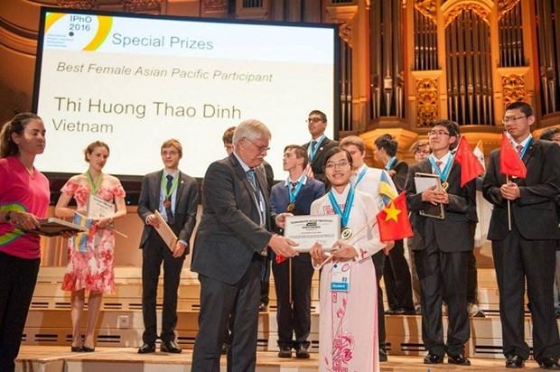 Le Vietnam prime aux 47e Olympiades de physique 2016 hinh anh 1