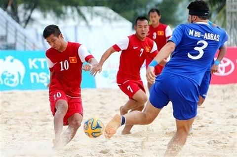 Exemption de frais de visa pour les sportifs des Asian Beach Games hinh anh 1