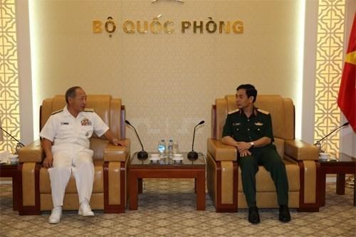 Renforcement de la cooperation entre les deux armees Vietnam-Japon hinh anh 1