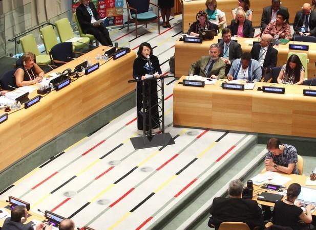 Le Vietnam au debat de haut niveau de la session de l'ECOSOC hinh anh 1