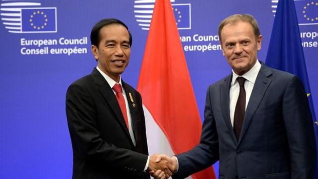 L'UE va negocier un accord de libre-echange avec l'Indonesie hinh anh 1