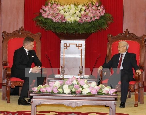 Le Vietnam souhaite promouvoir ses relations avec la Slovaquie hinh anh 1