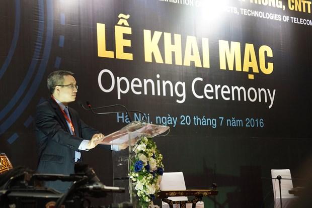 Ouverture d'une exposition internationale sur les TIC a Hanoi hinh anh 1