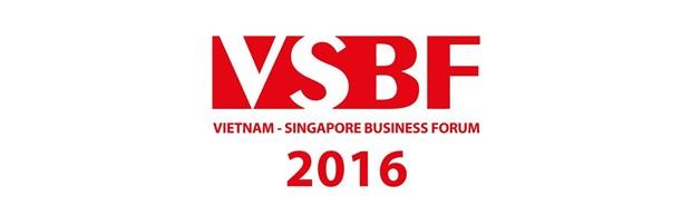 Forum d'affaires Vietnam-Singapour a Ho Chi Minh-Ville hinh anh 1