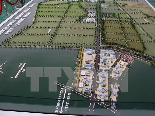 Publication du projet de la zone urbaine VSIP Quang Ngai hinh anh 1