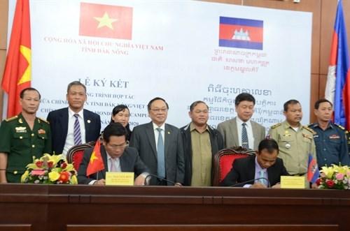 Dak Nong et Mondulkiri (Cambodge) renforcent leur cooperation integrale hinh anh 1