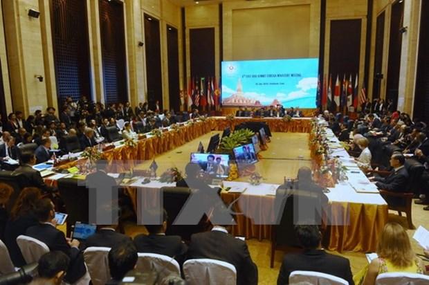 Conference des ministres des Affaires etrangeres du Sommet d'Asie de l'Est hinh anh 1
