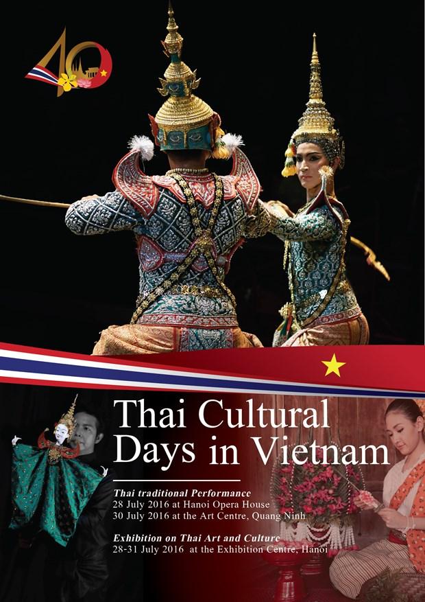 Hanoi accueille des journees culturelles de la Thailande hinh anh 1