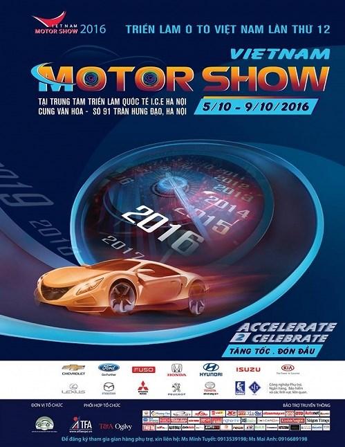 Treize marques presentes au Vietnam Motor Show 2016 hinh anh 1