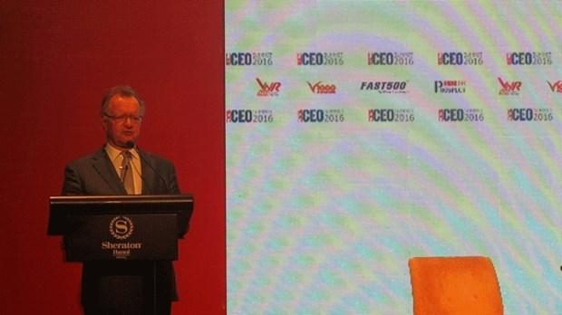 350 entreprises au Vietnam CEO Summit 2016 hinh anh 1