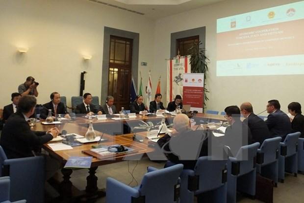 Vinh Phuc renforce la promotion du commerce et de l'investissement en Italie hinh anh 1