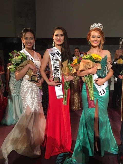 Une Vietnamienne elue 2e dauphine du concours Miss Deaf International 2016 hinh anh 1