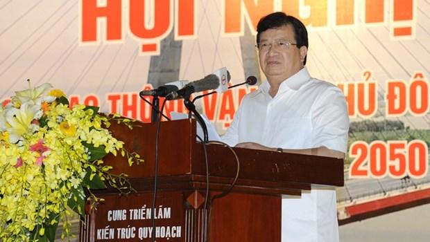 Hanoi determinee a moderniser son reseau de transports hinh anh 1