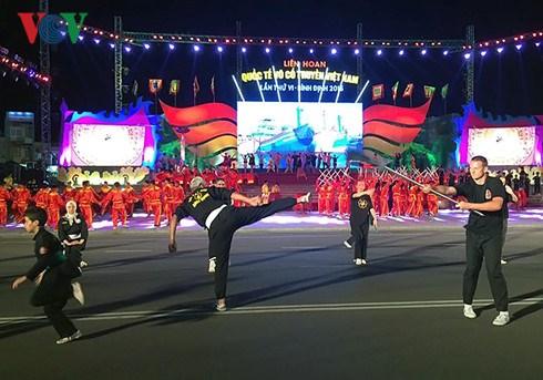 Ouverture du 6e festival international des arts martiaux traditionnels du Vietnam hinh anh 1