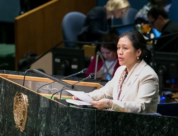 Le Vietnam a un debat du Conseil de securite sur les enfants et les conflits armes hinh anh 2