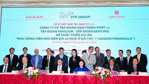 Pres de 6 milliards de dollars pour Saigon Peninsula a Ho Chi Minh-Ville hinh anh 1