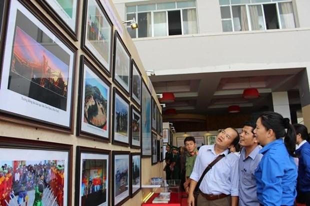 Exposition sur Hoang Sa et Truong Sa a Binh Dinh hinh anh 1