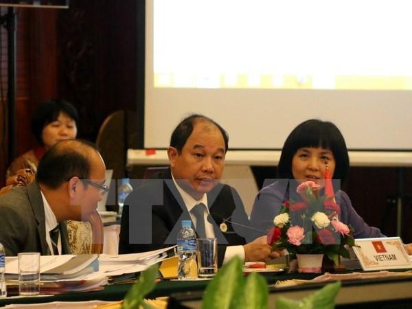 Les ministres de l'Economie de l'ASEAN saluent le soutien des Etats-Unis hinh anh 1
