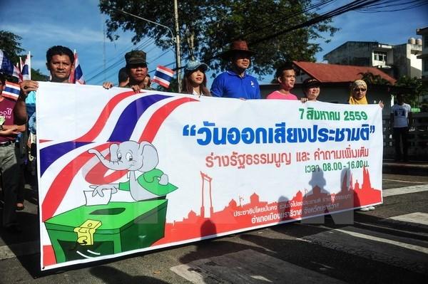 Thailande : le referendum constitutionnel n'a pas d'influence sur les elections generales hinh anh 1