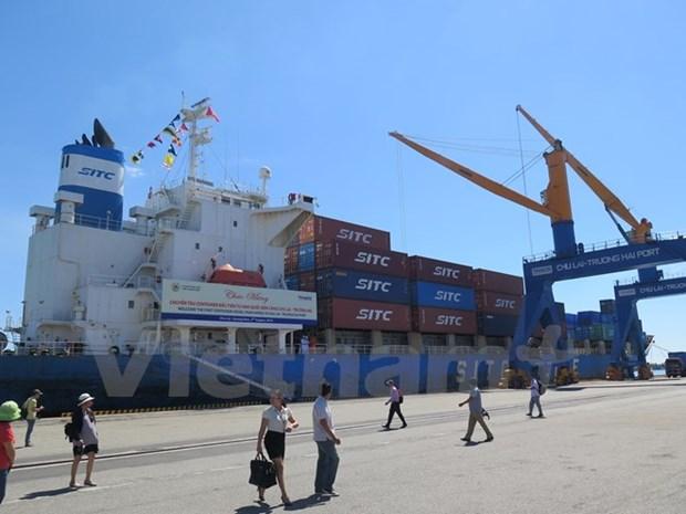 Ouverture d'une ligne maritime Republique de Coree-Chu Lai hinh anh 1