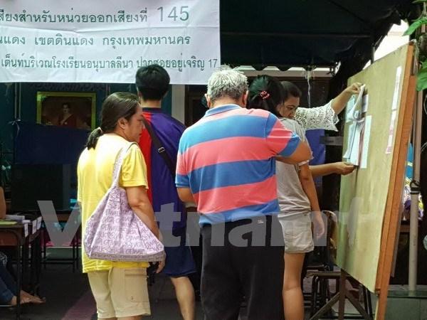 Thailande: ouverture du referendum sur la 20e Constitution hinh anh 1