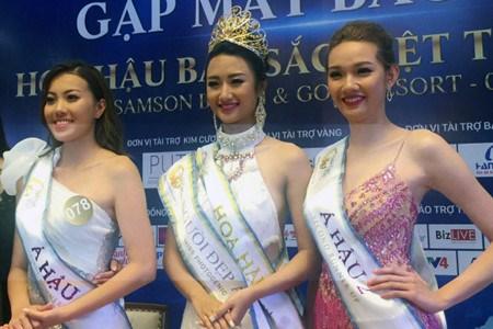 Tran Thi Thu Ngan elue Miss Monde de l'identite vietnamienne 2016 hinh anh 1