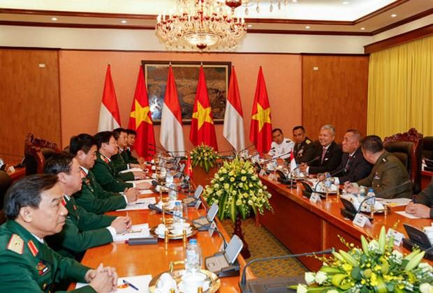 Vietnam-Indonesie : promotion de la cooperation dans la defense hinh anh 1