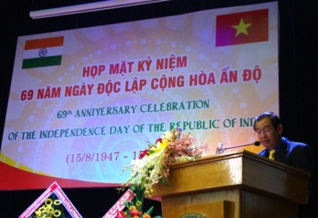 La Journee de l'Independance de l'Inde fetee a Ho Chi Minh-Ville hinh anh 1