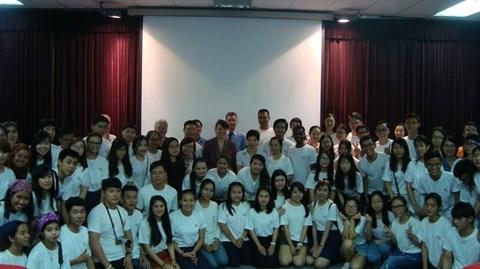 L'Universite d'ete francophone prend ses quartiers a Hanoi hinh anh 2