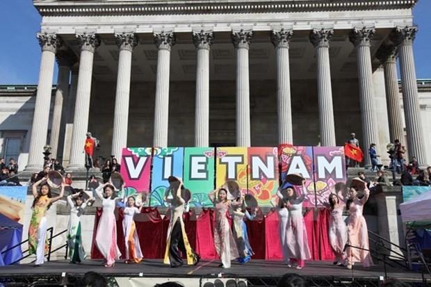 Les jeunes et etudiants vietnamiens en fete aux Etats-Unis hinh anh 1