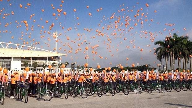 Diverses activites en l'honneur de la 55e anniversaire de la Journee des victimes de l'agent orange hinh anh 1