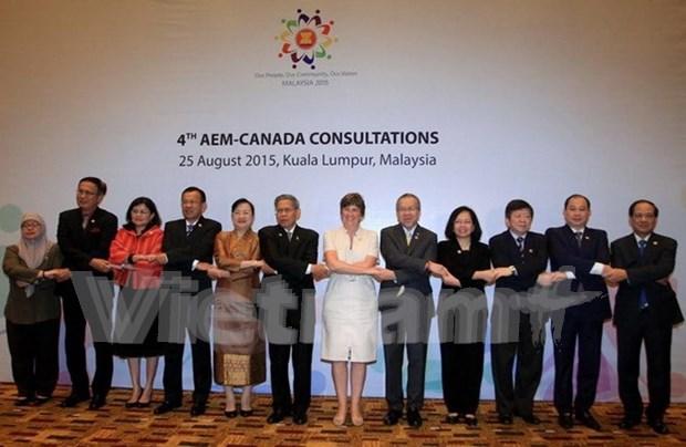 L'ASEAN et le Canada demarrent leurs negociations sur les politiques commerciales hinh anh 1