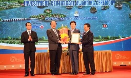 Un projet sud-coreen de 300 millions de dollars autorise a Ha Nam hinh anh 1