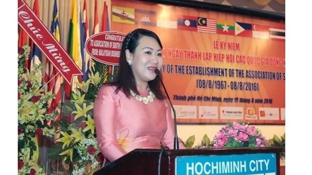 Le 49e anniversaire de l'ASEAN celebre a Ho Chi Minh-Ville hinh anh 1