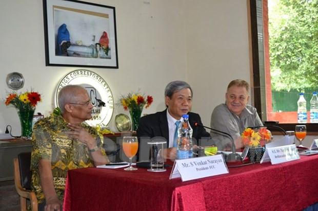 Vietnam et Inde ont des bases solides pour des relations plus etroites hinh anh 1